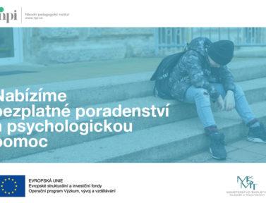 Poradenství i psychologickou pomoc nabízí Národní pedagogický institut